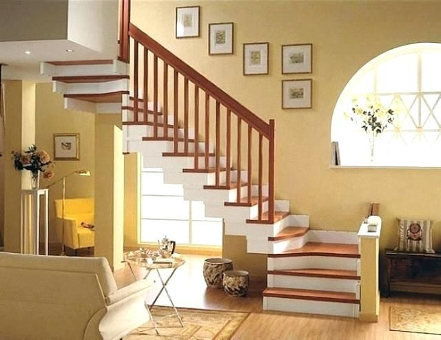 Pin By Dupu On Stairs In Homes Home Stairs Design Home Inside Design Small House Design