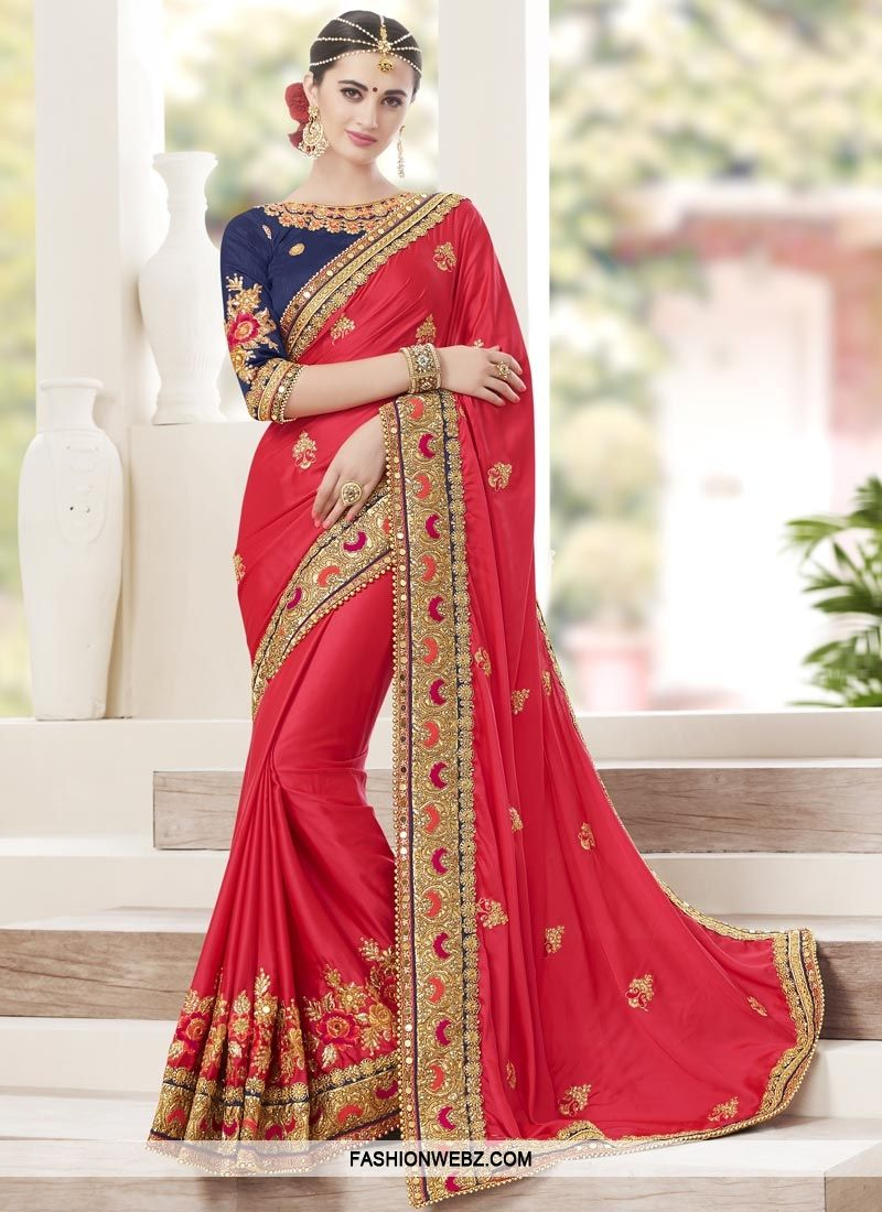 You are sure to make a strong fashion statement with this this red