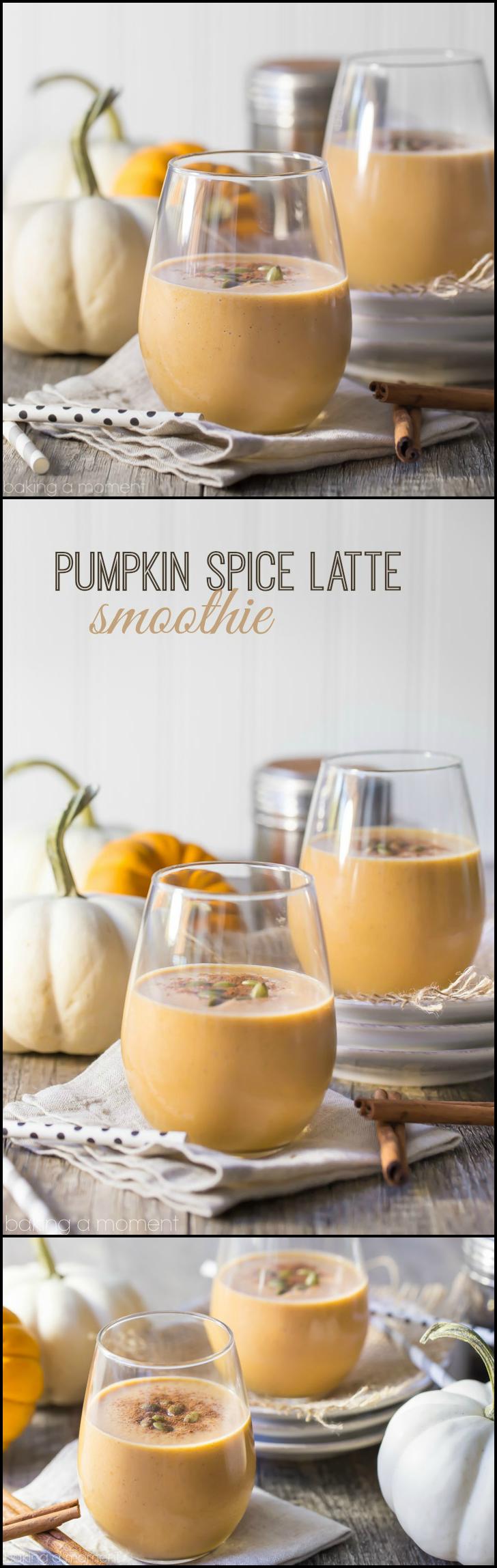 pumpkin spice latte smoothie rezept kitchen. Black Bedroom Furniture Sets. Home Design Ideas