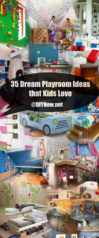 35 Dream Playroom Ideas that Kids Love