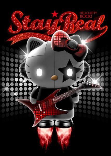 Hello Kitty Rock Star X Stay Real Hello Kitty Hello Kitty Hello