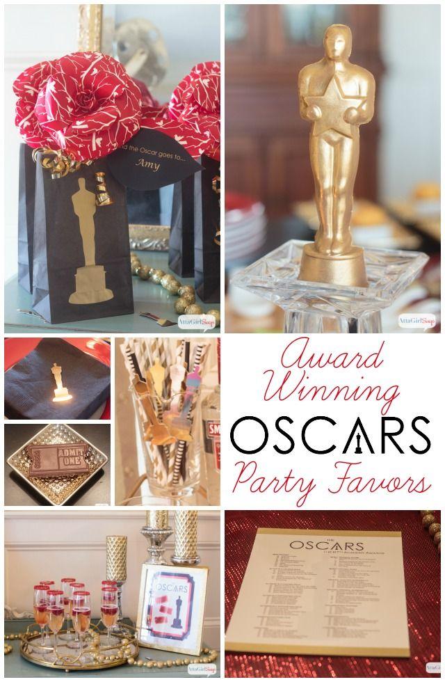 Award Winning Oscars Party Favors