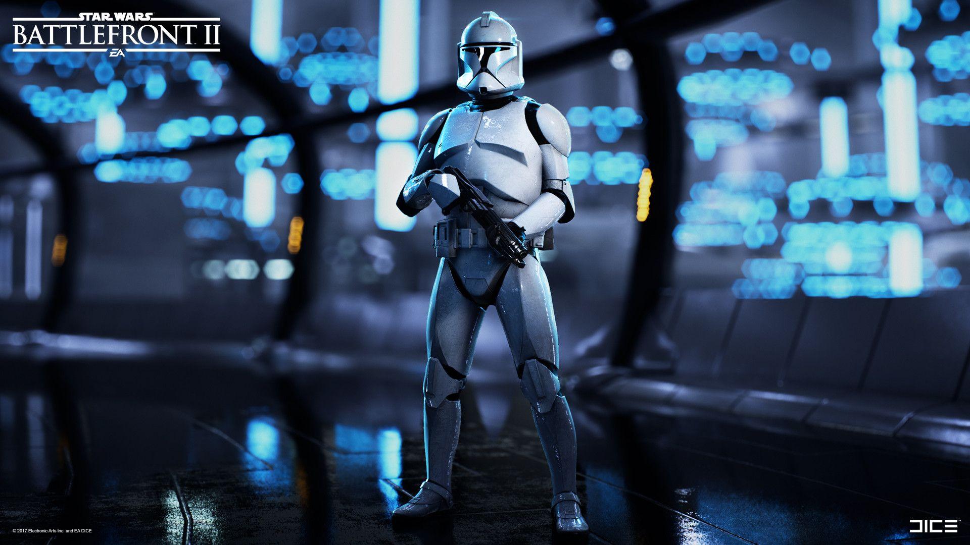 Artstation Star Wars Battlefront 2 Clone Trooper Assault Class Bjorn Arvidsson Star Wars Battlefront Star Wars Trooper Star Wars Baby