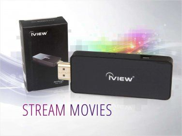 NEW! iVIEW Streaming from Android Smartphone or Tablet to TV!