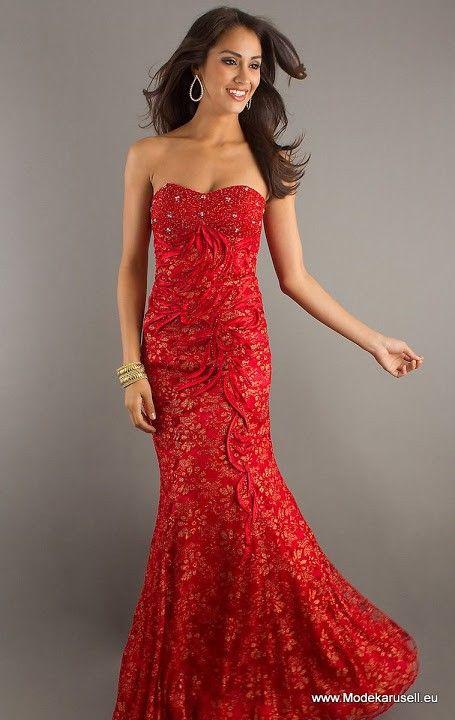 Bustie Abendkleid Boden Lang In Rot Abendkleid Rotes Abschlussballkleid Lange Abschlussballkleider