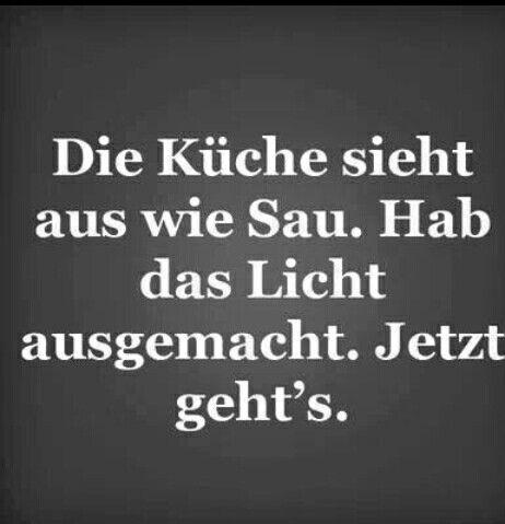 unaufgeräumte Küche   funny things   Pinterest   Küche, Lustiges und ...