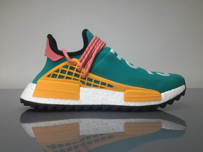 Adidas NMD Human Race Pharrell Williams  Sun Glow for Sale  3648