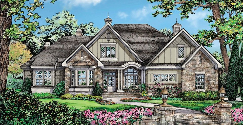 Home plan homepw76093 2453 square foot 4 bedroom 3 for Www homeplans com