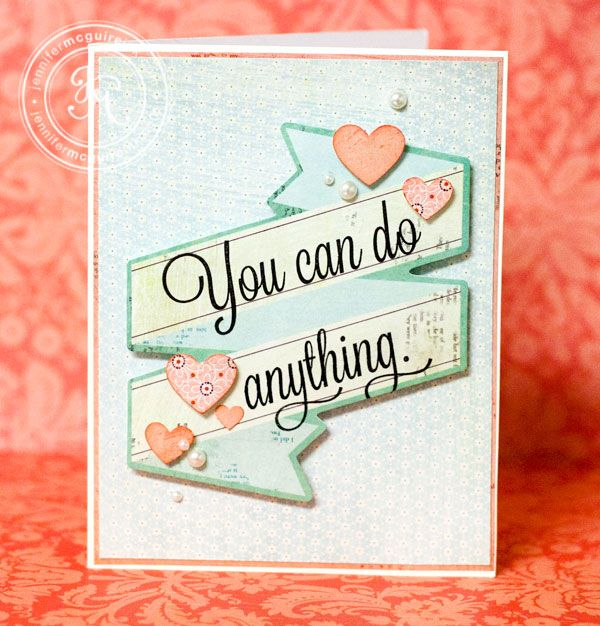 card - you can do anything - Jennifer McGuire