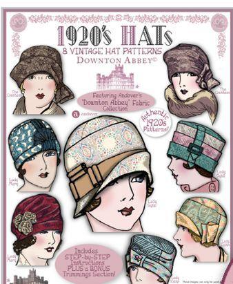 1920s hats | Ilustrations | Pinterest | Hüte und Nähen