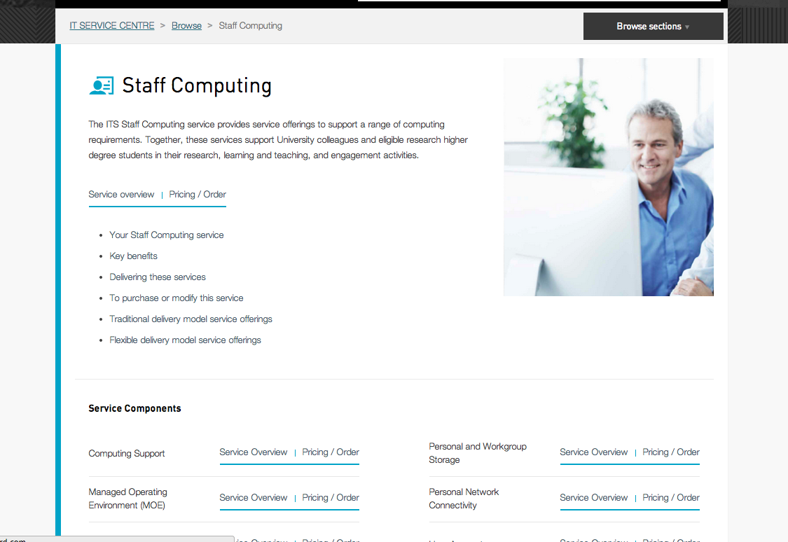 the university of melbourne service catalogue overview section using zendesk help center