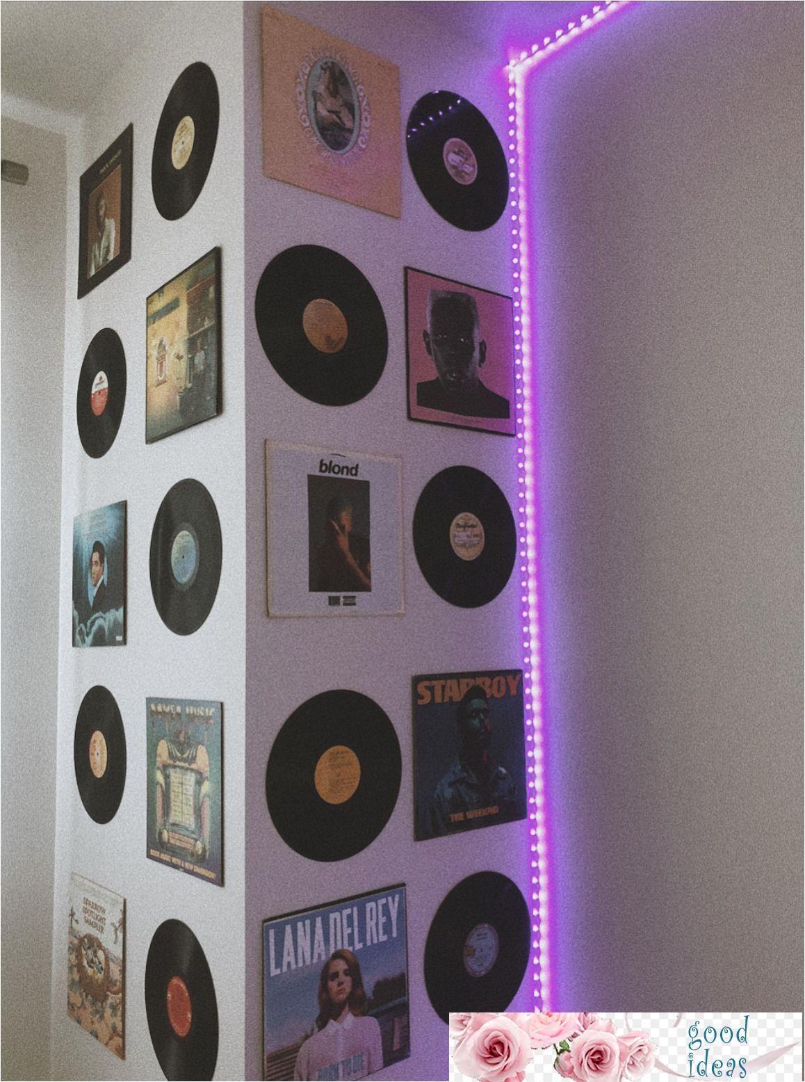 Jul 7, 2020 - record wall, aesthetic, vintage, room decor ...