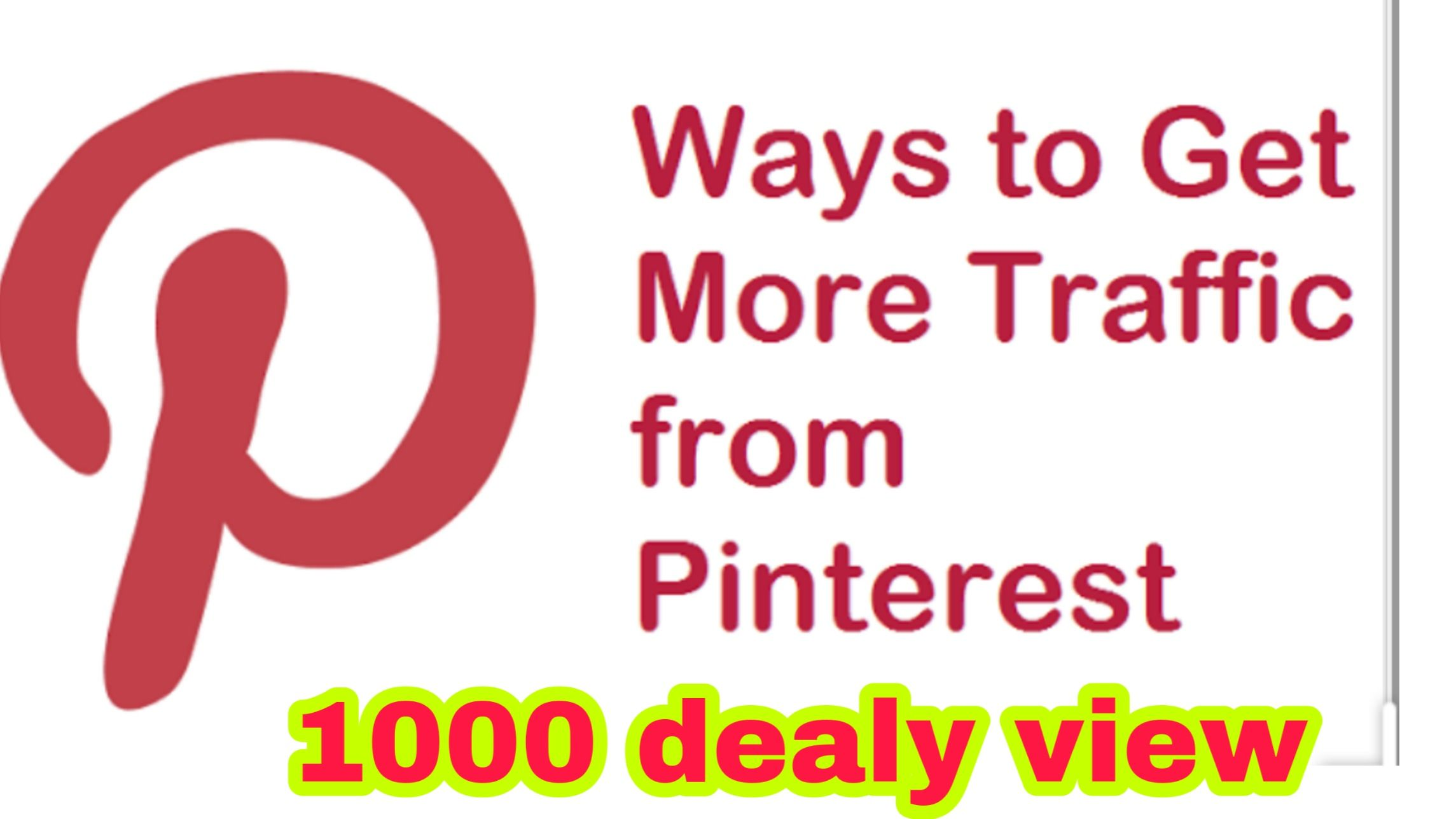 How To Get Traffic To Your Website FAST using Pinterest