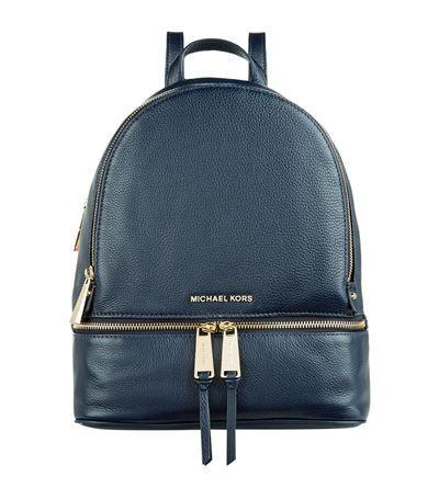 MICHAEL MICHAEL KORS Rhea Zip Backpack. #michaelmichaelkors #bags #leather #denim #backpacks #