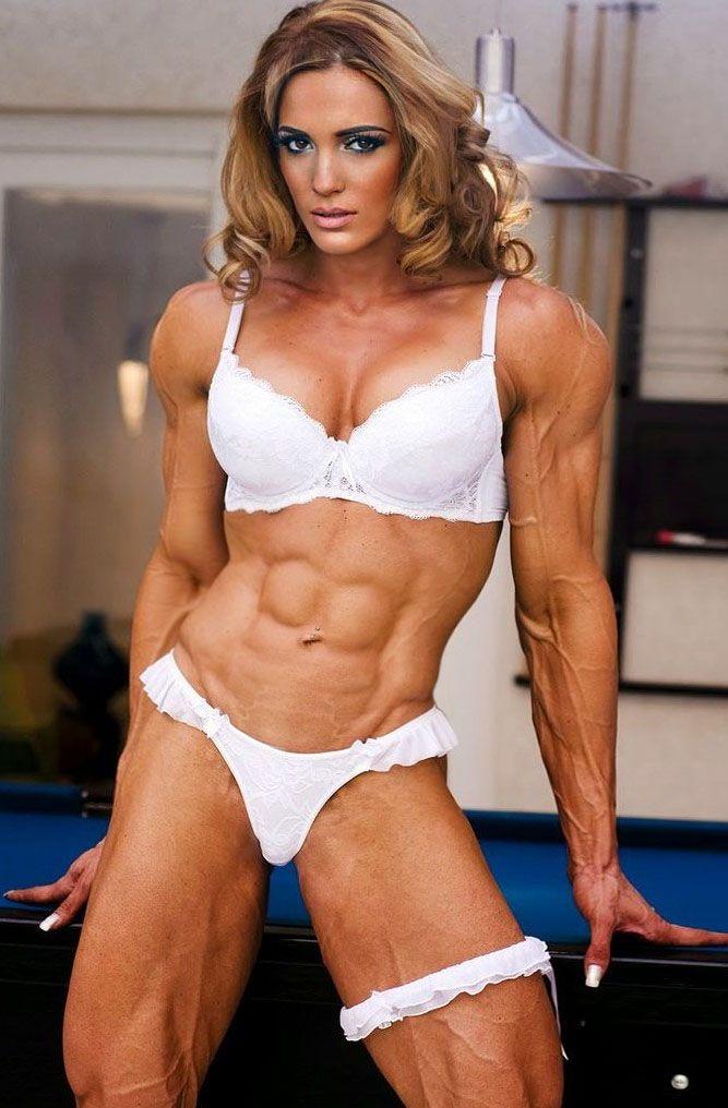 Beautiful muscular girls