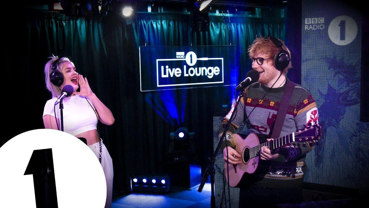 Ed Sheeran & AnneMarie Fairytale Of New York in the