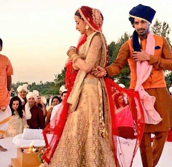 Images of sanaya irani wedding in goa