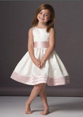 più recente ca52b 8eb83 Abiti damigelle bambine sposa | per le mie bimbe | Abiti da ...