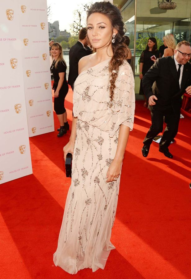 977dce6078004 Michelle Keegan and Alesha Dixon lead stylish stars at the BAFTA TV ...