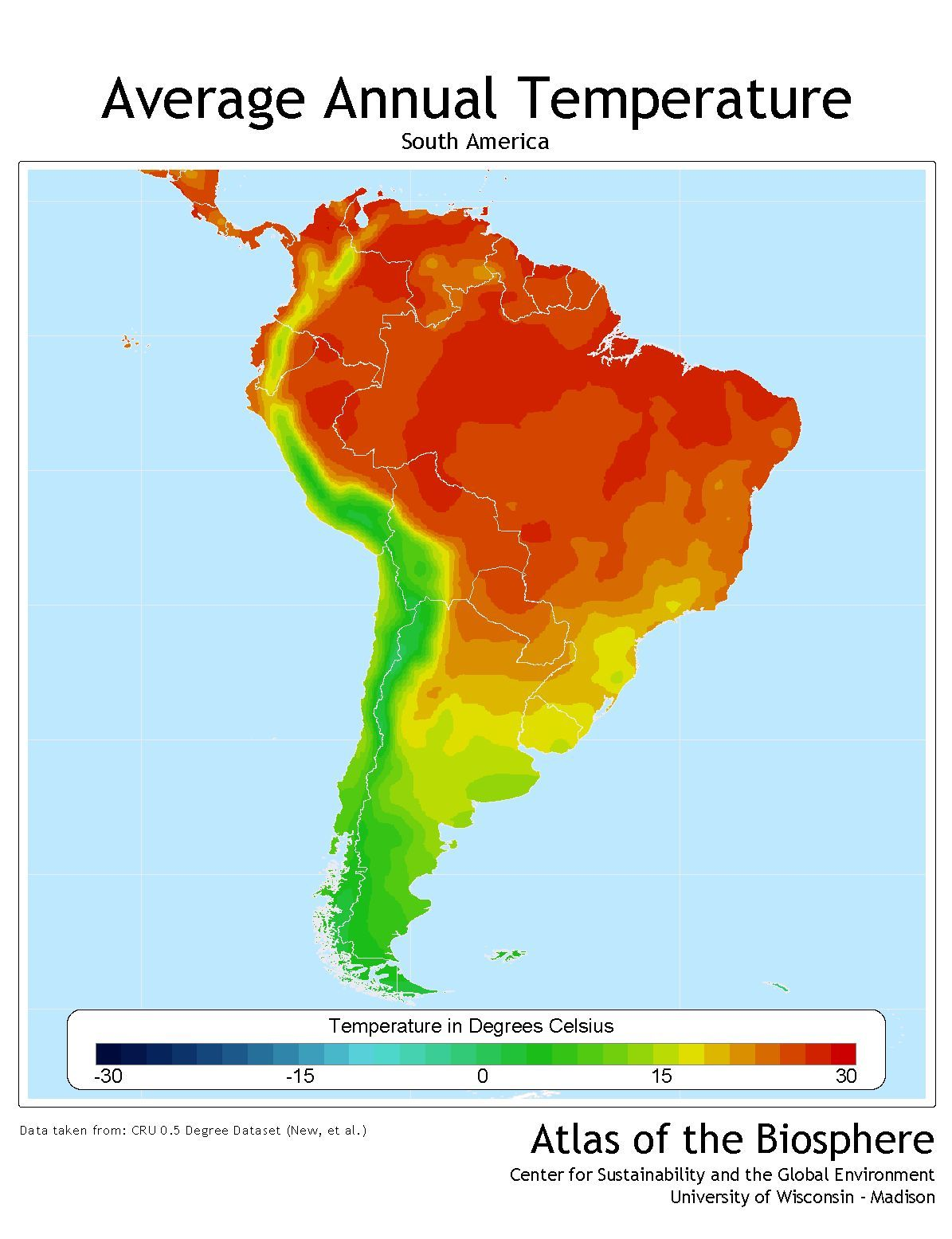 Climate Map Of South America Google Search Latin Culture - Map of north america climate