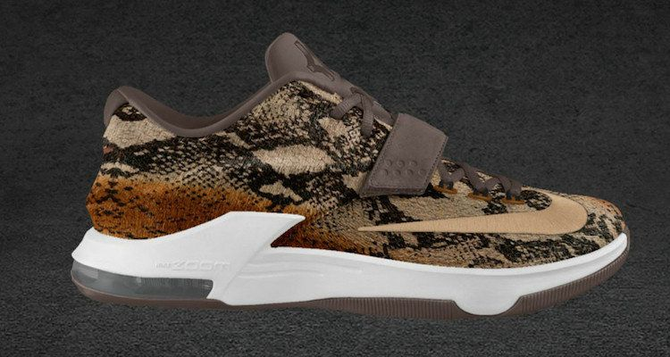 KD 7 Pony Hair ID Animal Leopard Print White Gold  88fbea9ae6