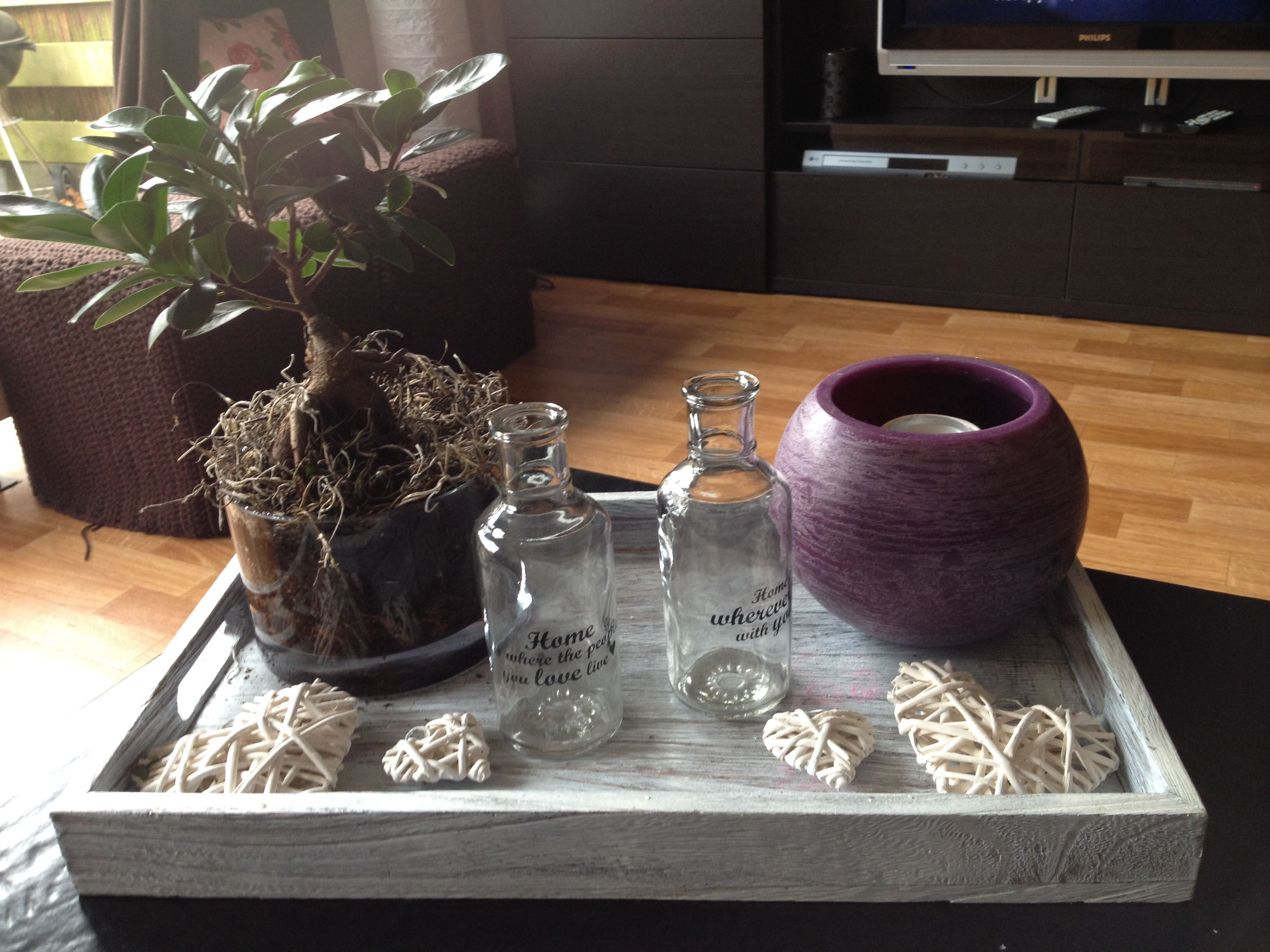 Dressoir Decoratie Ideeen : Pin van tracey op decorative tray and accents pinterest dressoir