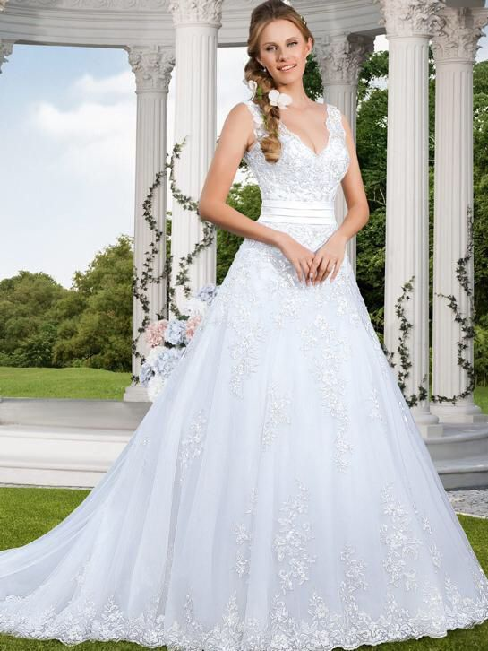 Pin Op Bruidsjurken Sissi Prinsessen Style