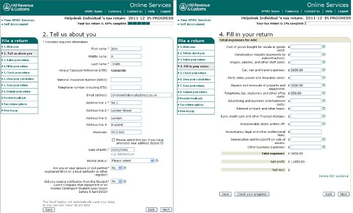 How To Complete HmrcS Online Self Assessment Filing  Cash