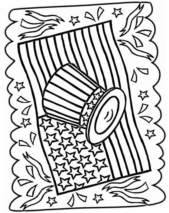 4th Of July Coloring Page July Colors Coloring Pages Printable Coloring Pages