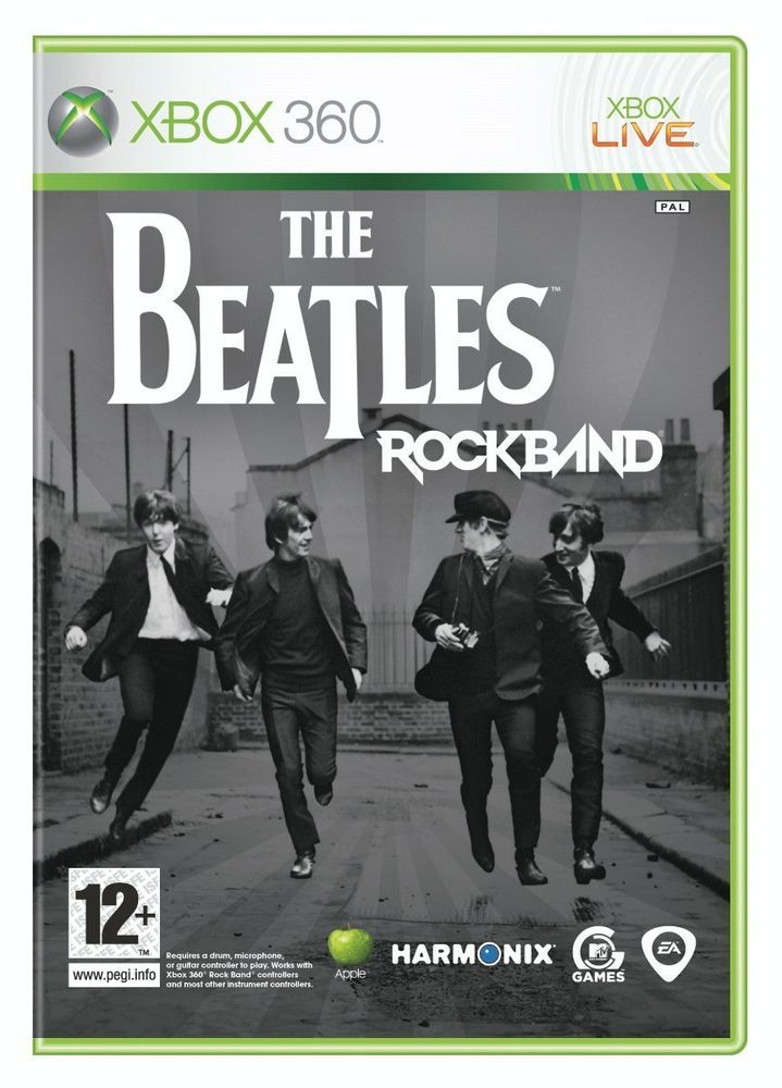 THE BEATLES ROCK BAND - Game Only - Microsoft Xbox 360 - BRAND NEW + SEALED!