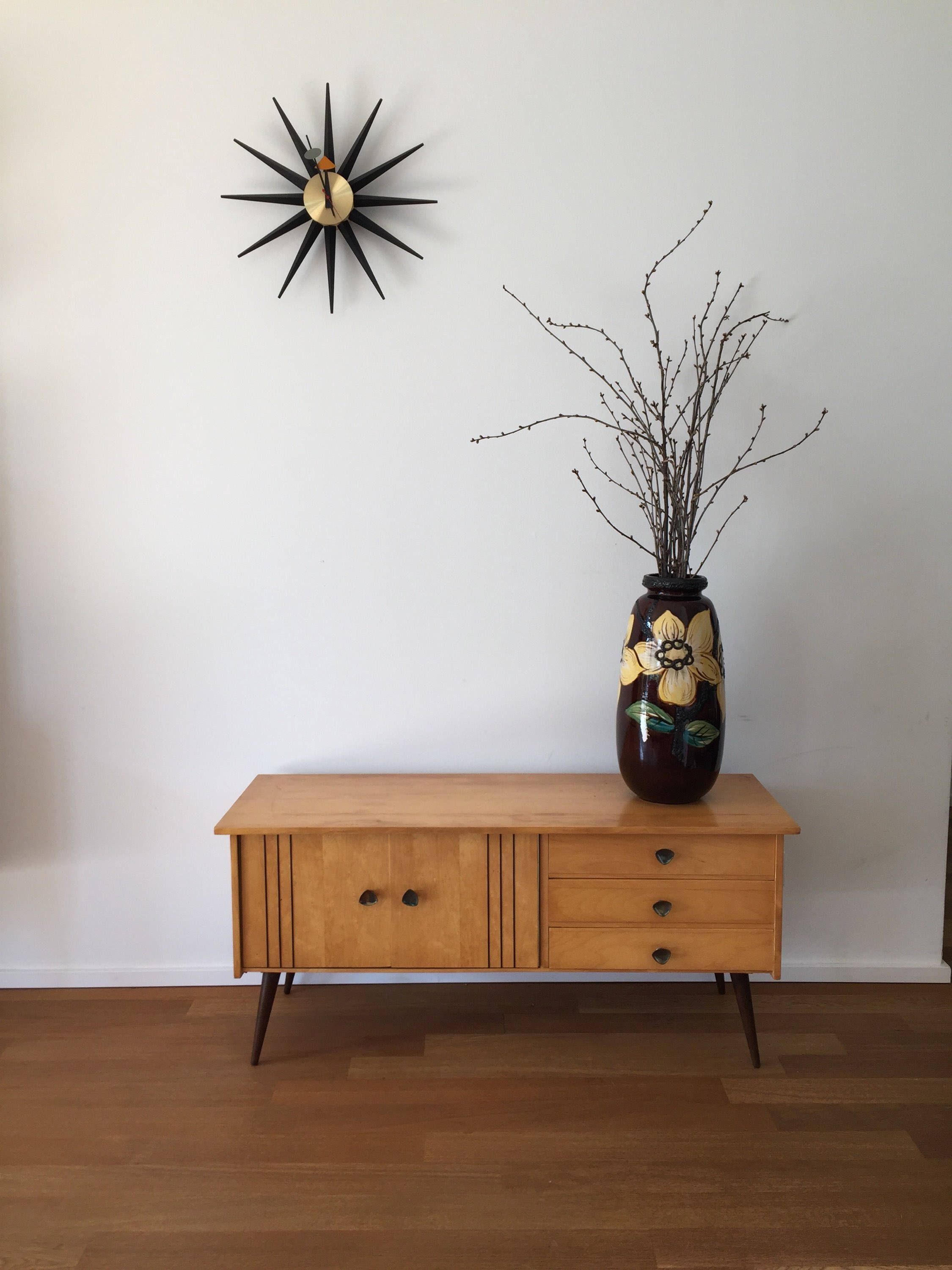 Sideboard 60er Jahre mid century 50 s 60 s chest of drawers sideboard kommode sideboard