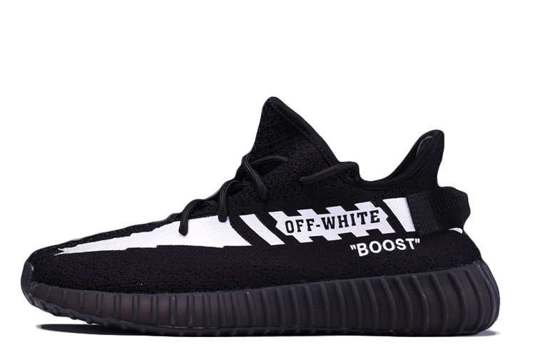 Off White® x Adidas Yeezy Boost 350 V2 'Black' – Kickked