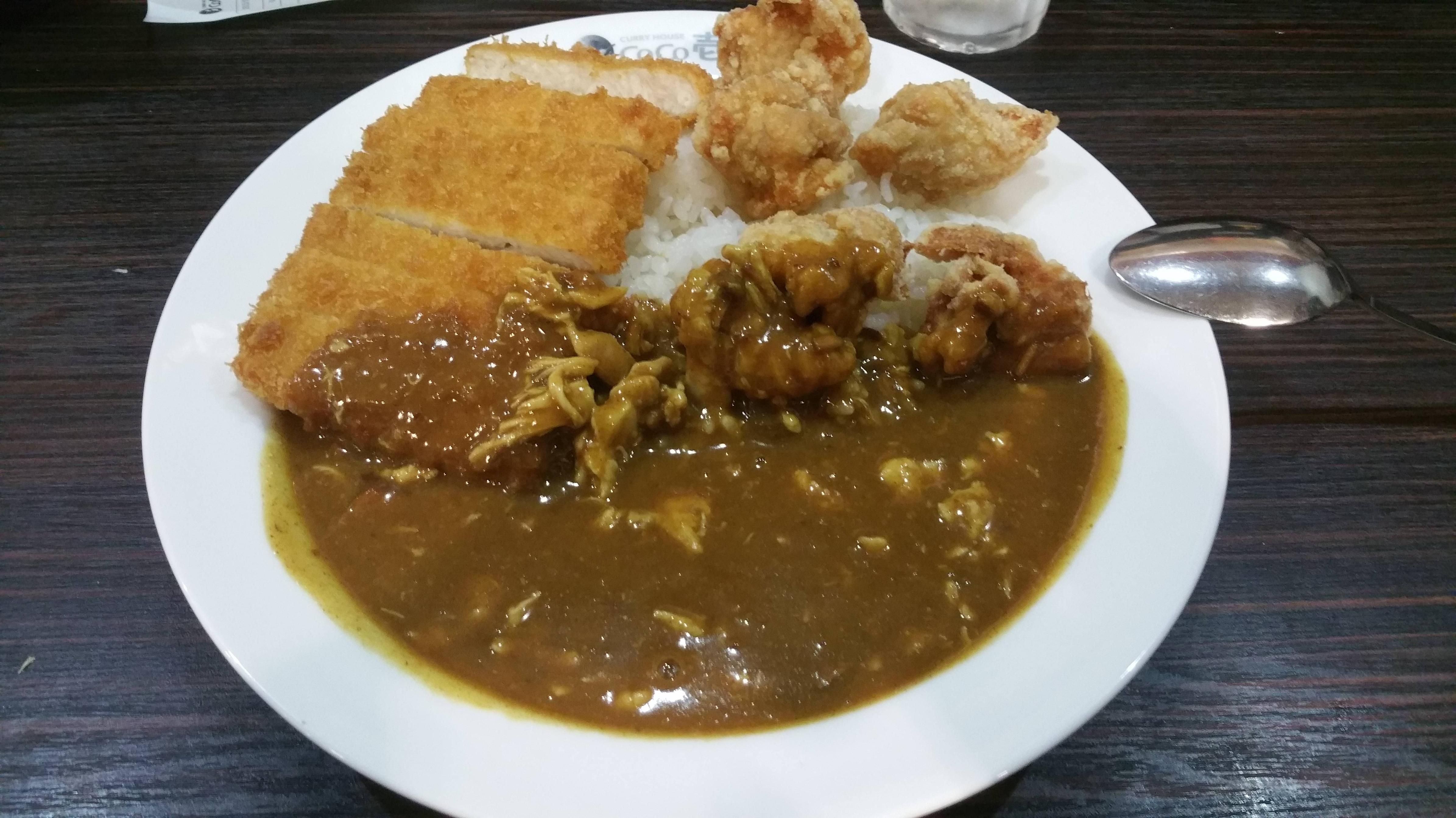 Delicious Japanese Curry With Chicken Katsu And More From Curry House In Shimbashitokyojapan Recipes Food Cooking Deliciou Japanese Curry Delicious Food