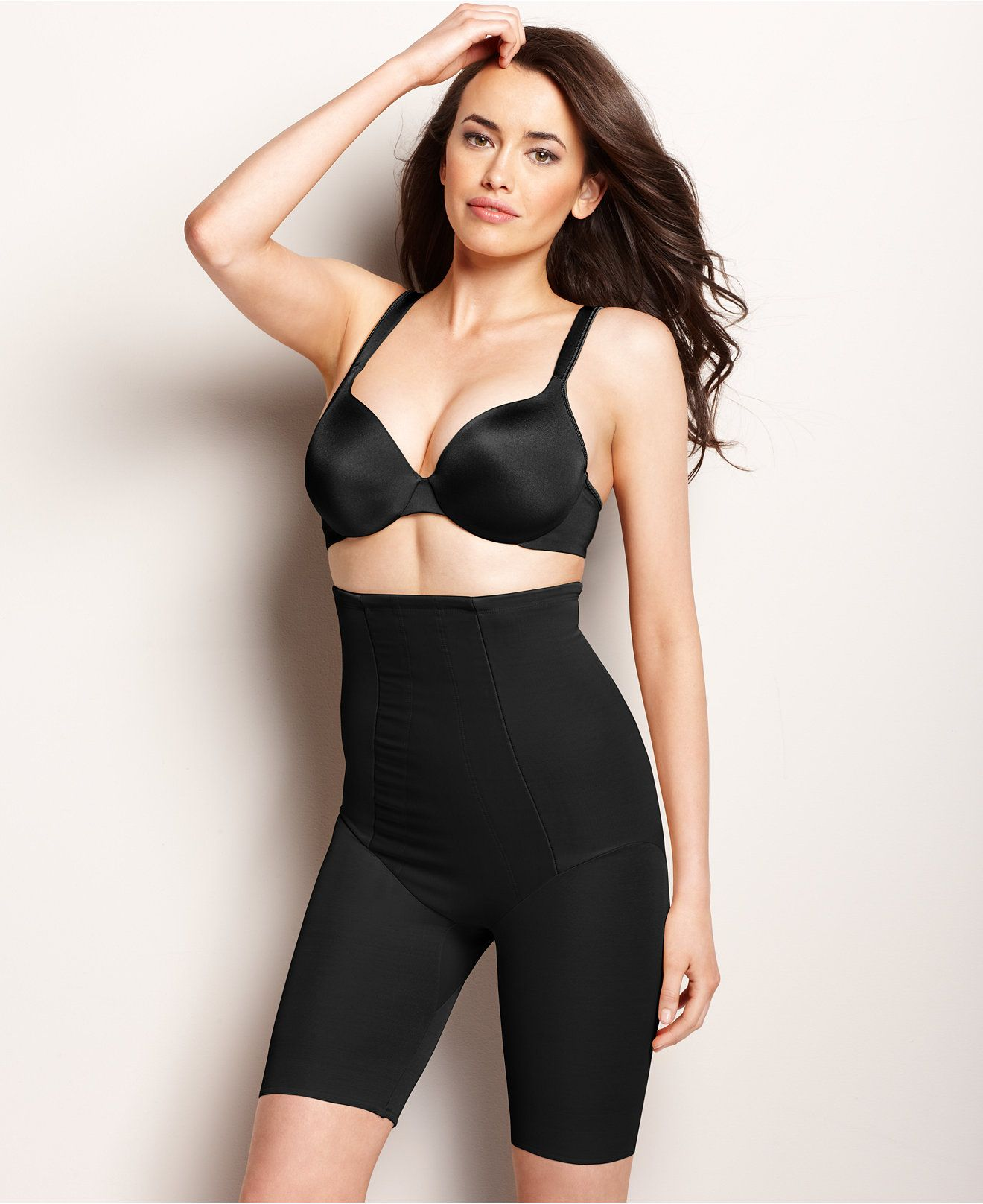 7e1b13800579 Miraclesuit Extra Firm Control Shape with an Edge High Waist Thigh Slimmer  2709 - Bras, Panties & Shapewear - Women - Macy's