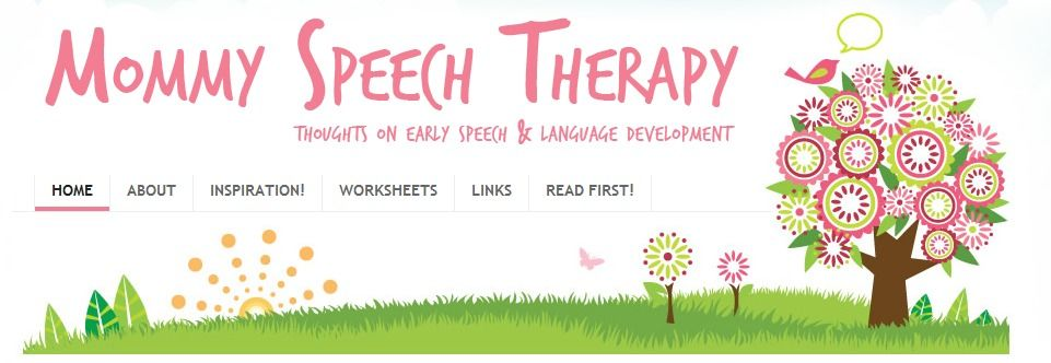 Updated And More Complete Speech Worksheets From Heidi At Mommy