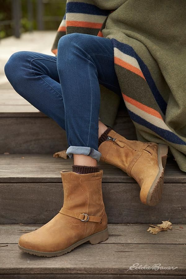 07fd02593df The ultimate boot  Eddie Bauer s Covey Boot - Riding boot-inspired ...