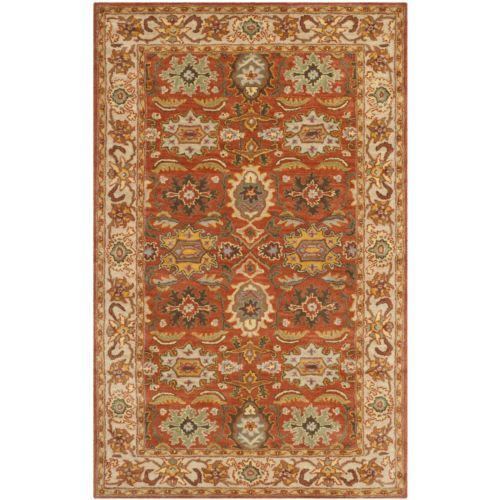 Safavieh Handmade Heritage Rust Beige Wool Rug 4 Area Rugswool Rugs4x6