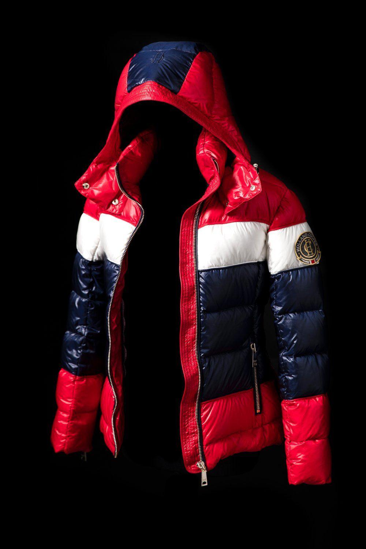Megeve Down Puffer Coat (Tri-Colour)  af16b01a523cc