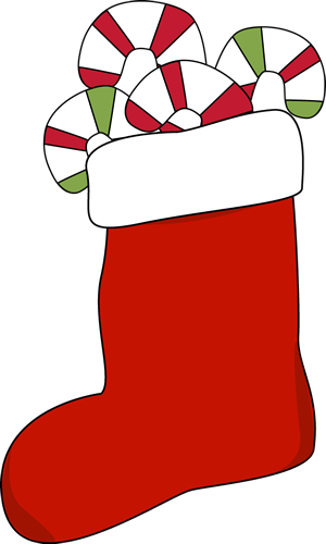christmas stocking filled with candy canes clip art christmas rh pinterest com christmas stockings clipart black and white christmas stocking clip art pictures