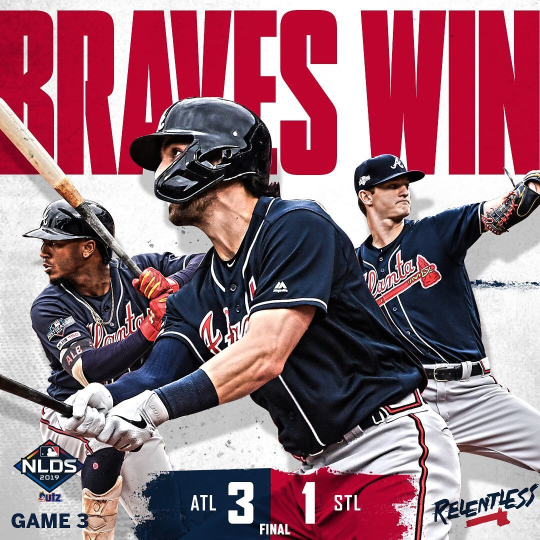 Atlanta Braves We Are Relentless With Images Atlanta Braves Atlanta Braves Baseball Braves