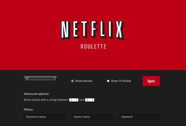 Com dúvidas do que assistir hoje? O Netflix Roulette decide por você - http://marketinggoogle.com.br/2014/05/05/com-duvidas-do-que-assistir-hoje-o-netflix-roulette-decide-por-voce/