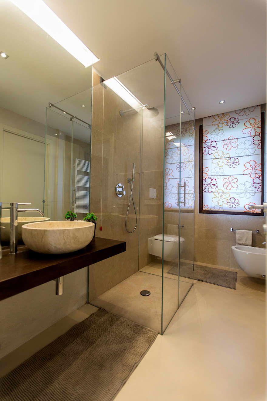 Bagno moderno interior design idee e foto l bagni for Arredamento case da sogno interior design