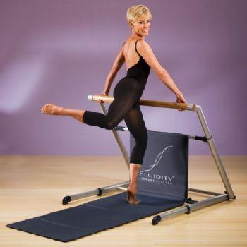 fluidity bar bent leg lifts  bar workout fluidity