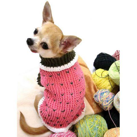 Dog Clothes Crochet Myknitt #cutedogs #chihuahua #Christmas ...