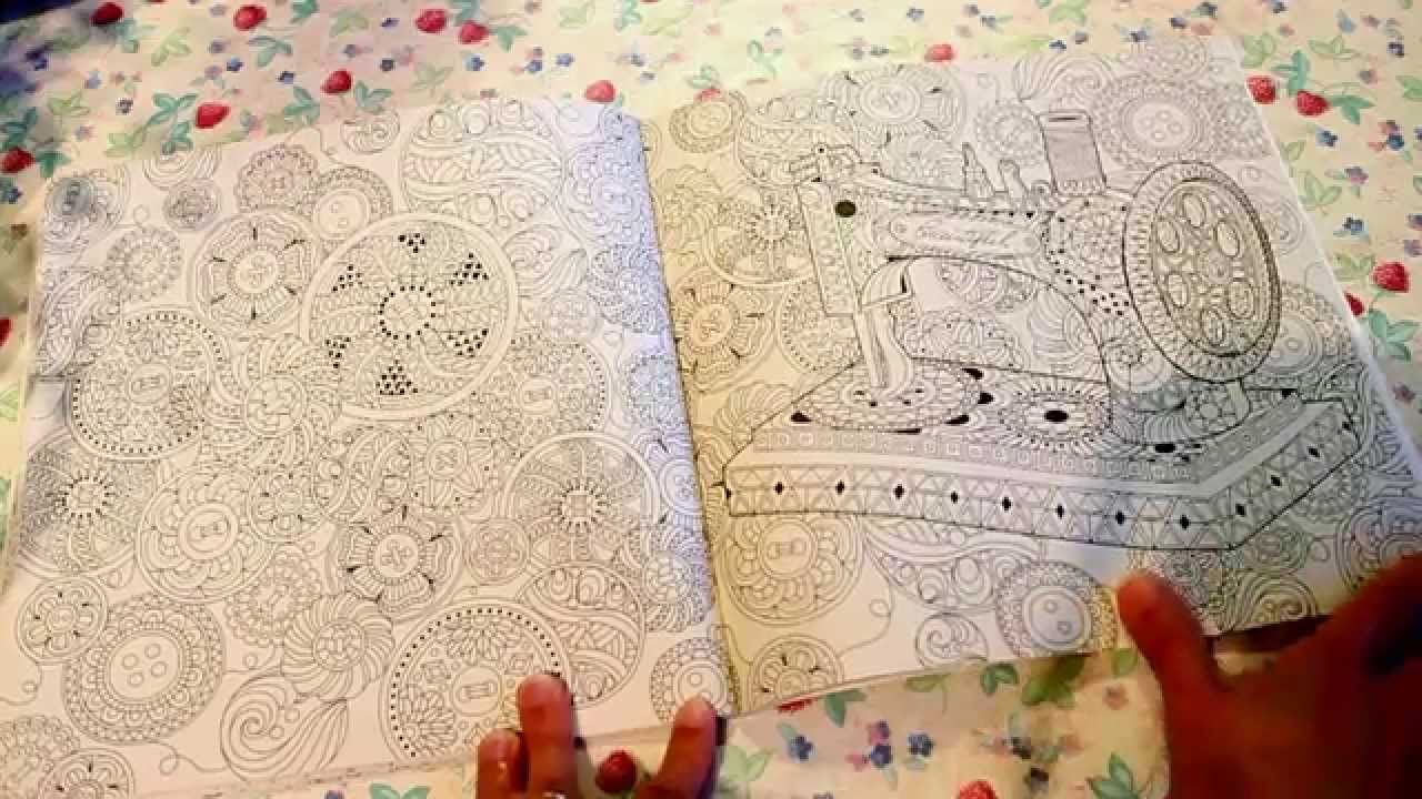 Beautiful Day Coloring Book By Young Mi Park This One Is The Thai Editon Of A Korean Consists 84 Pags
