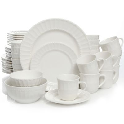 Gibson Home Heritage Place 48-Piece Dinnerware Set  sc 1 st  Pinterest & Gibson Home Heritage Place 48-Piece Dinnerware Set | Dinnerware ...