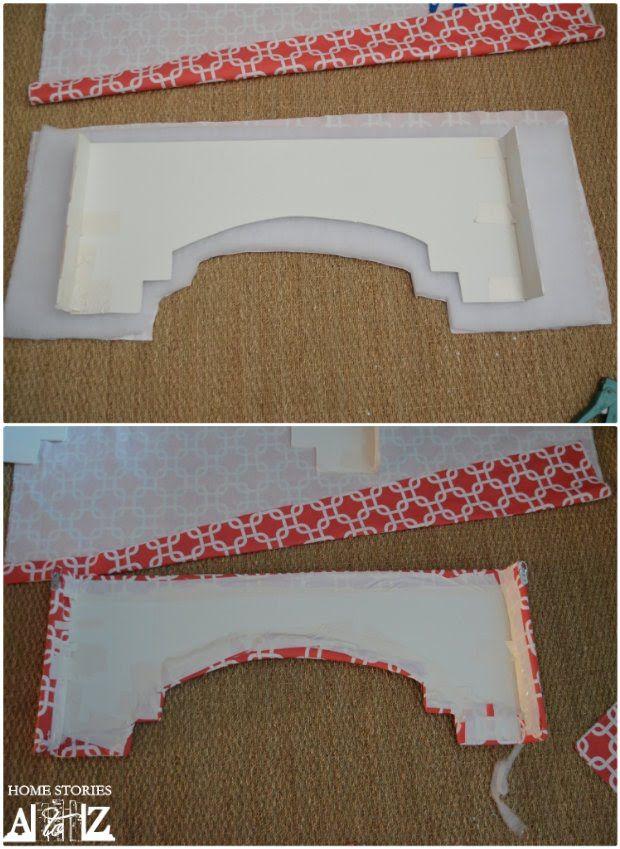 How To Build A Window Cornice Diy Window Cornices