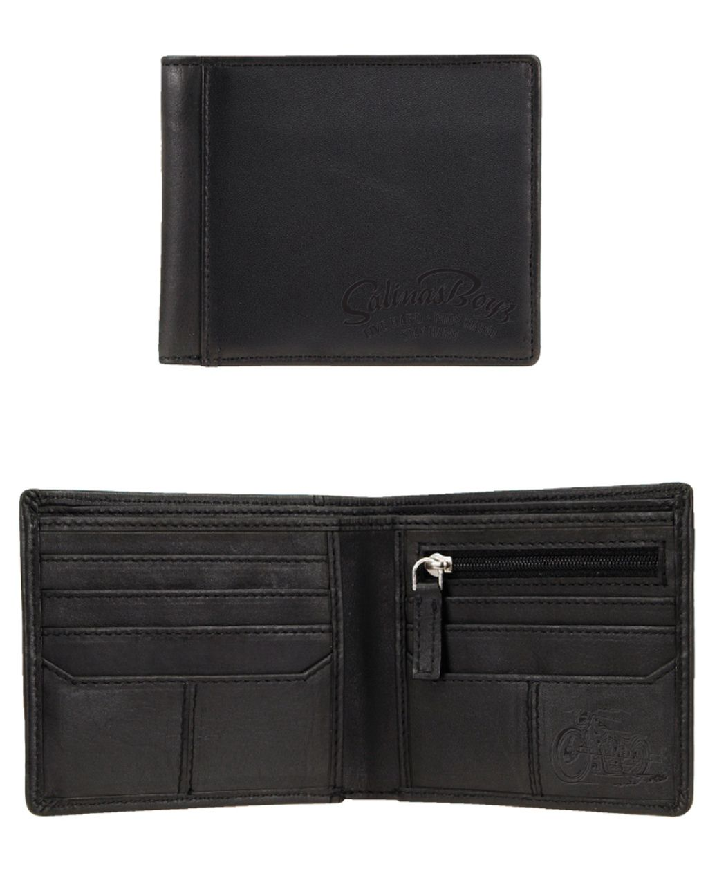 Salinas Boys Leather Wallet Wallet, Leather, Leather wallet