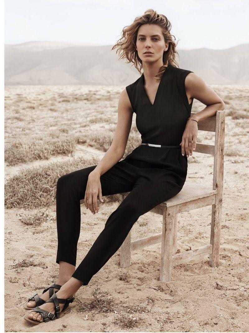 Daria Werbowy for Mango Summer 2014 Campaign