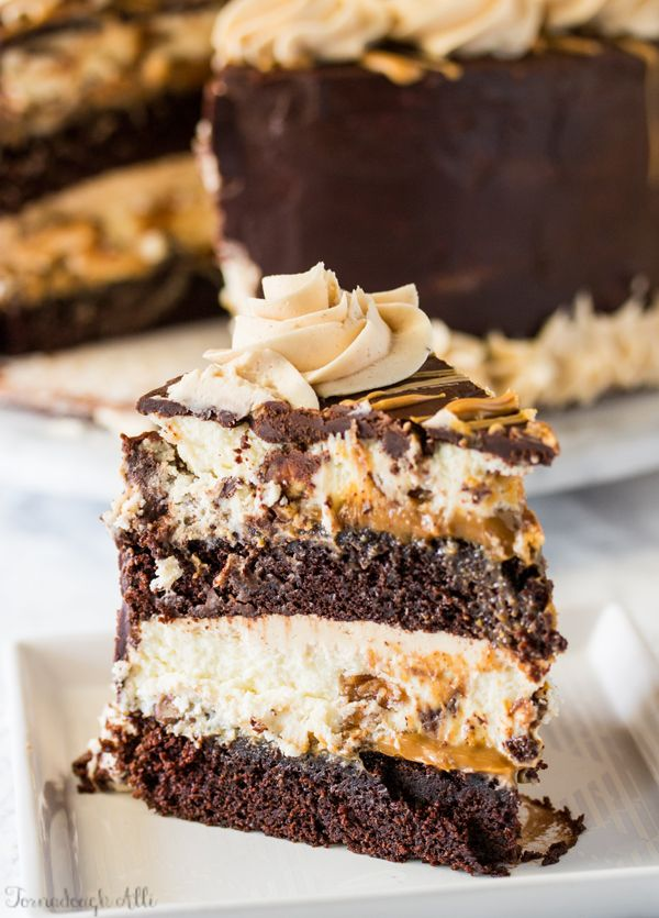 Copycat Cheesecake Factory Reese S Peanut Butter Chocolate Cake Cheesecake Recipe Savoury Cake Chocolate Cheesecake Recipes Cheesecake Factory Recipes